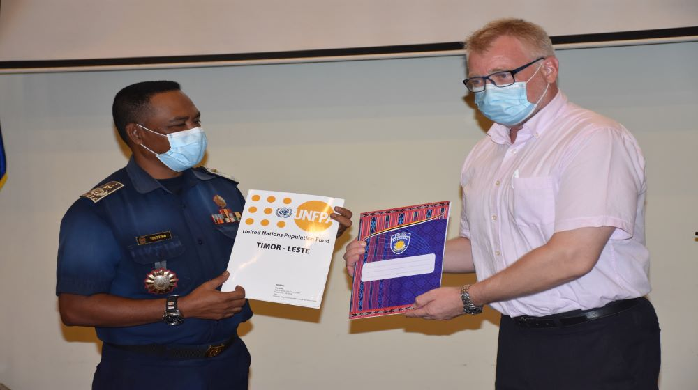 UNFPA and PNTL partnership to strengthen HIV prevention in Timor-Leste