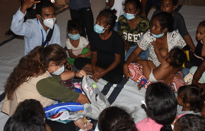 10,000 displaced people seek refuge in evacuation centers as floods destroy families in Timor-Leste