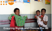 UNFPA is committed to deliver a Timor-Leste where every pregnancy is wanted, every childbirth is safe, and every young person's potential is fulfilled.